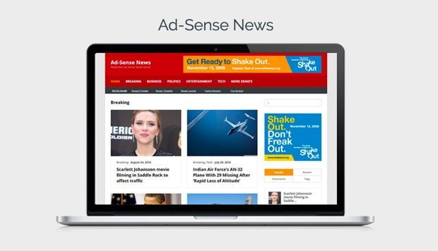 Ad-Sense News Demo