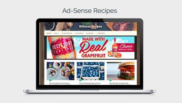 Ad-Sense Recipes Demo