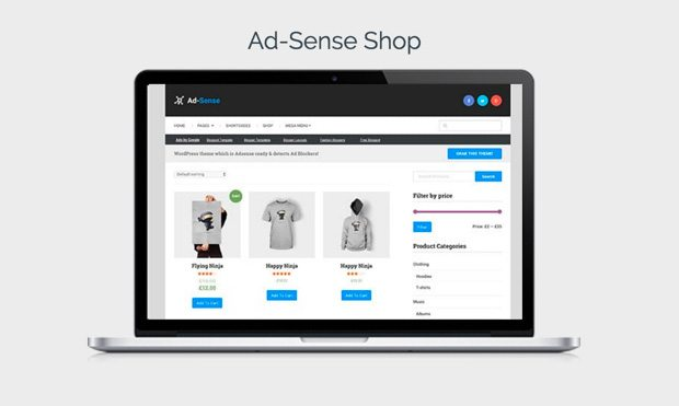 Ad-Sense Shop Demo