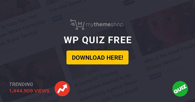 WordPress Quiz Free Plugin