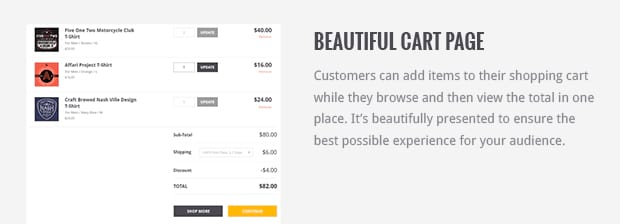 Beautiful Cart Page