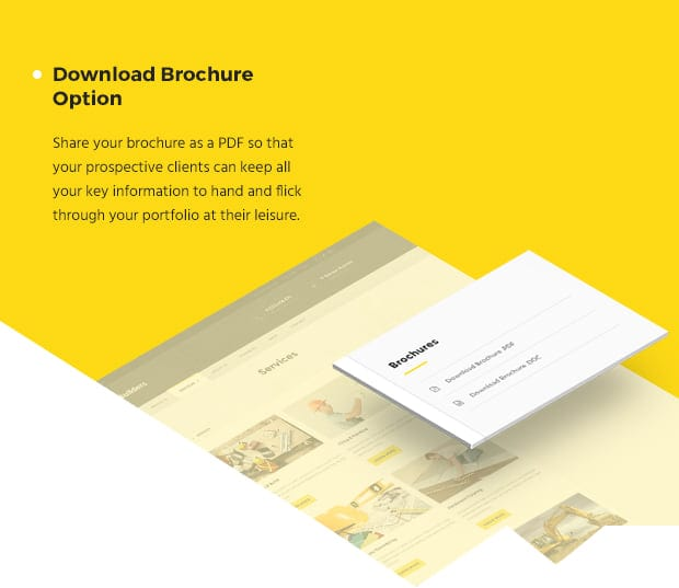 Download Brochure Option