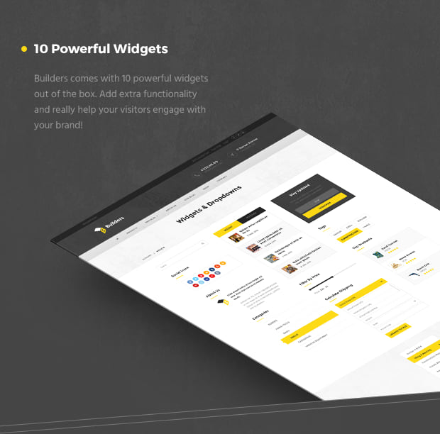 10 Powerful Widgets