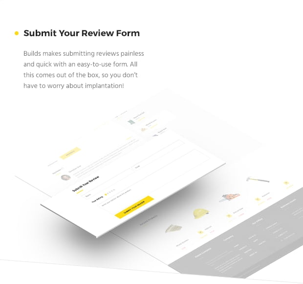 Submit Your Review Form