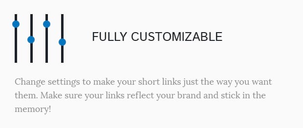 Fully Customizable