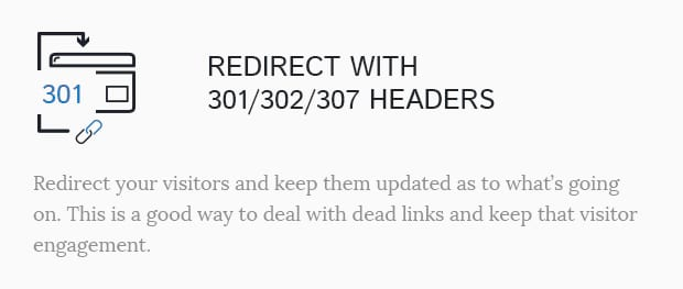 Redirect With 301 302 307 Headers