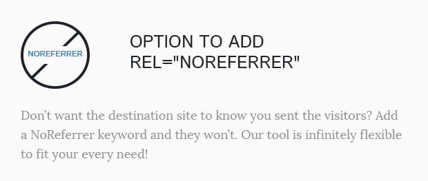 Option to Add Rel NoReferrer