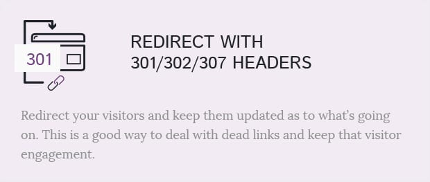 Redirect With 301/302/307 Headers