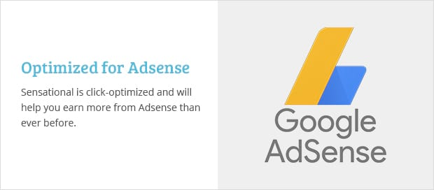 Optimized for Adsense