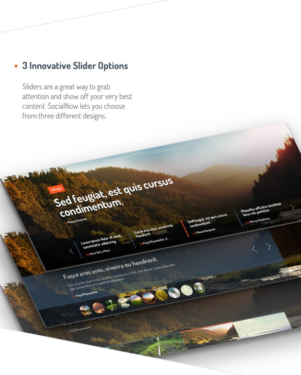3 Innovative Slider Options