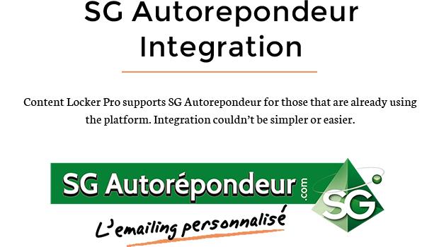 SG Autorepondeur Integration