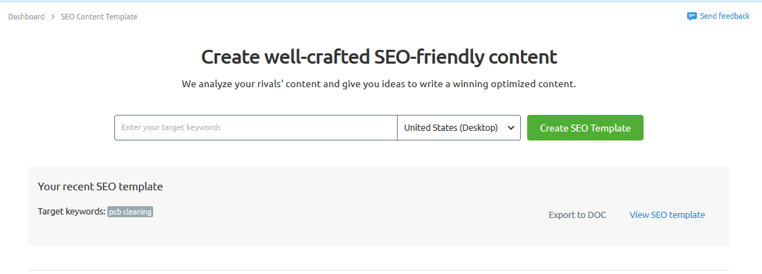 Well crafted SEO