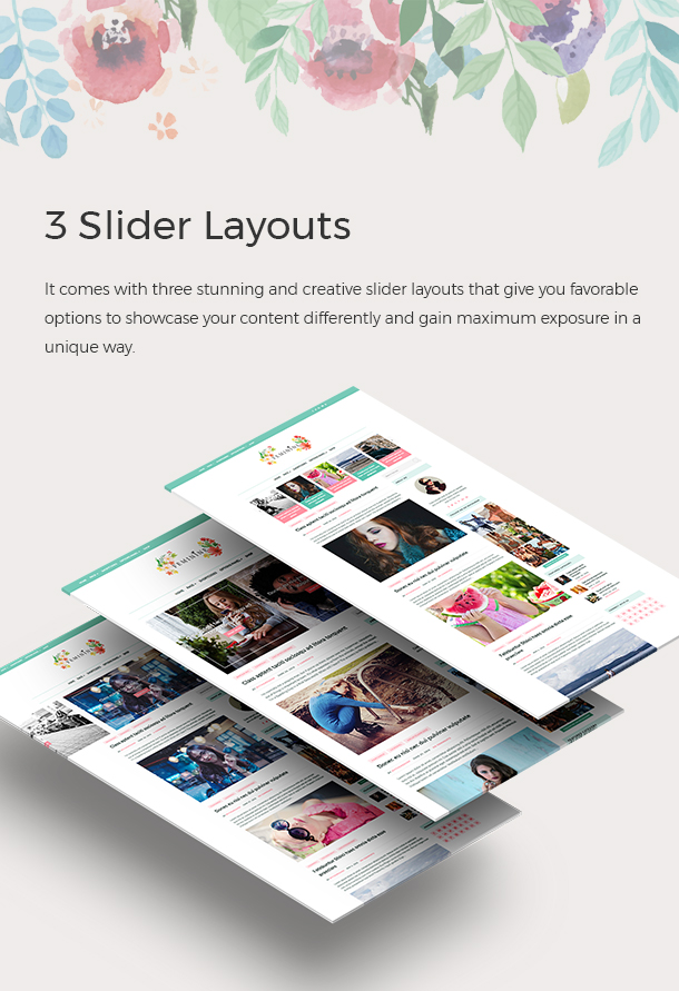 3 Slider Layouts