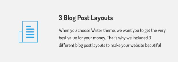 3 Blog Post Layouts