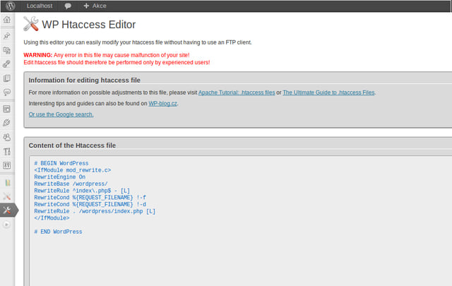 how to add htaccess file in wordpress
