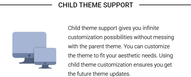 Child Theme Support