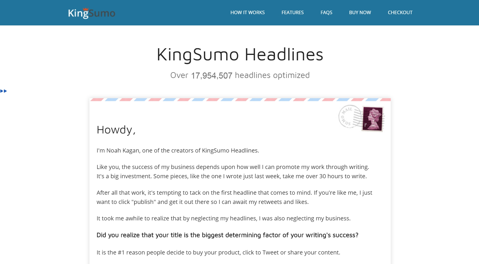 Headlines Plugin By KingSumo