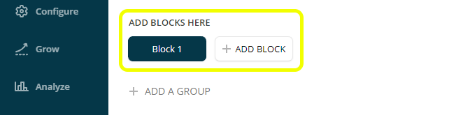 add blocks