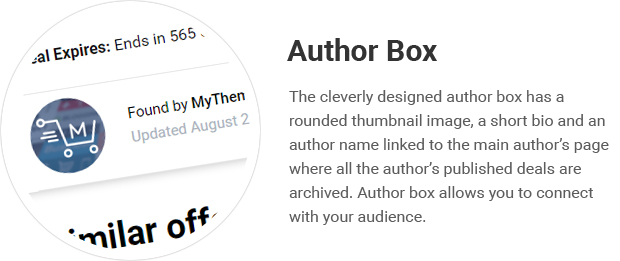 Author Box