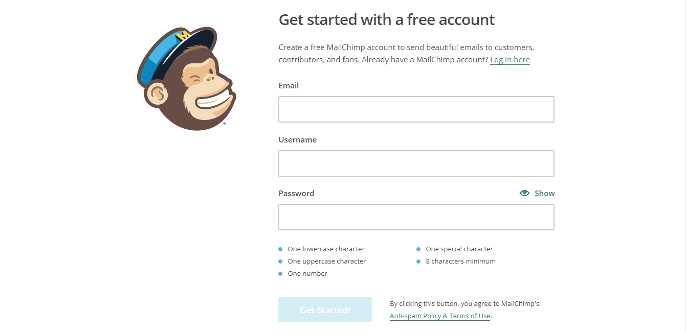 How-to-Set-Up-a -MailChimp-Account
