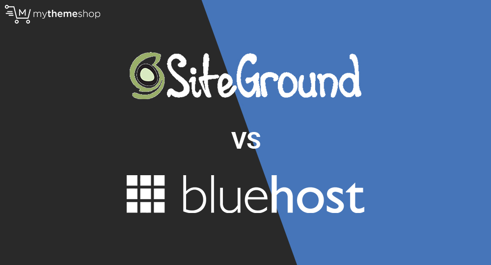 Siteground-vs-bluehost