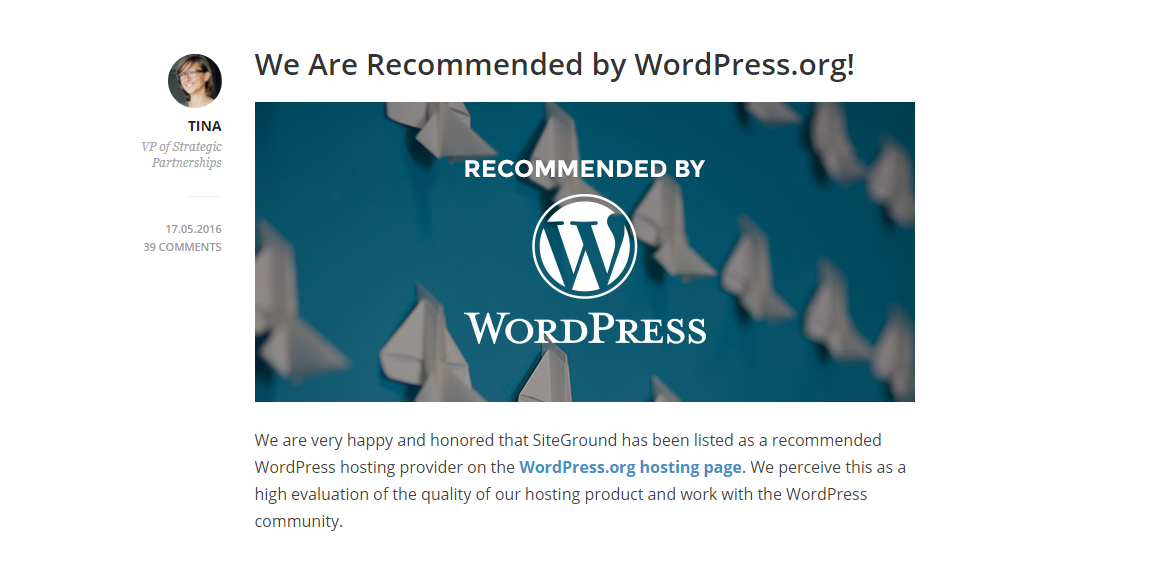 Wordpress-Recommend