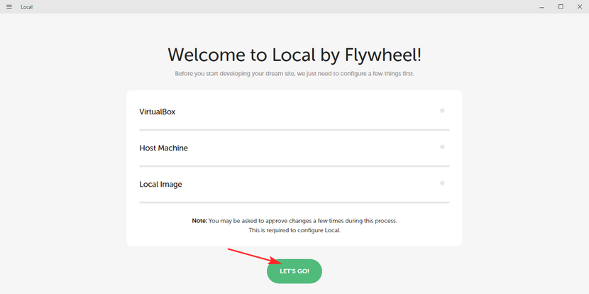 local-welcome-screen-install-wordpress-locally