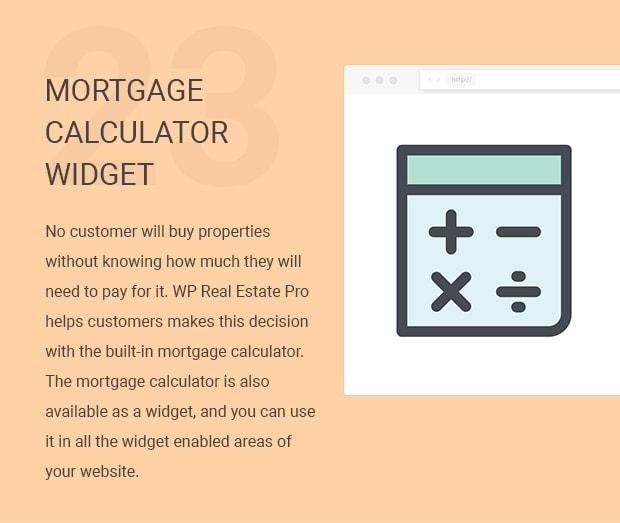 Mortgage Calculator Widget