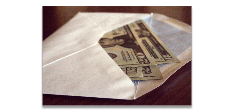 bribe-in-envelope