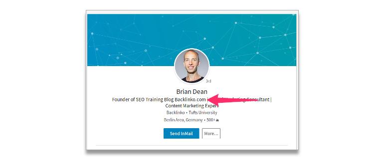 linkedIn-profile-link